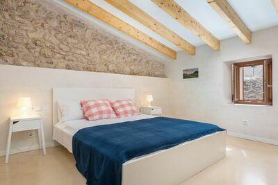 Maison de vacances pour 4 personnes à CAPDEPERA.