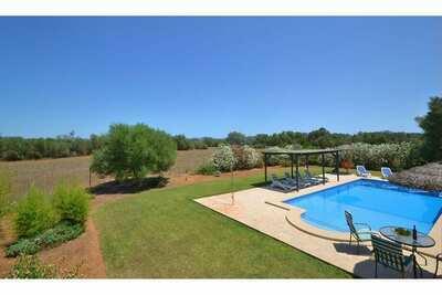 Maison de vacances dans cadre tranquille avec piscine privée
