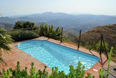 villa andalouse avec vue sur spectaculiar avec piscine privée