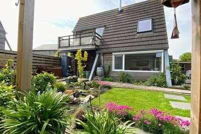 Maison de vacances moderne à Grou avec jardin