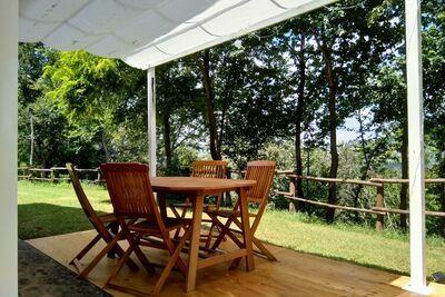 Villa de Charme à Monte San Martino avec Piscine