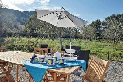 Villa bienheureuse à Agropoli avec jardin