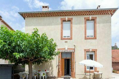 Maison de maître à deux pas de l'Orb à Roquebrun