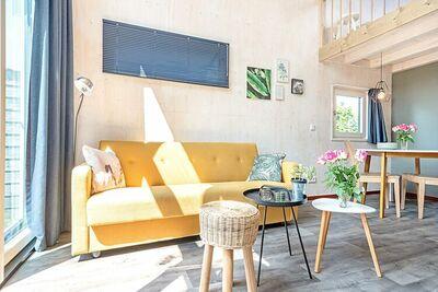 Charmante maison de vacances à Sint-Annaland près de Lakebeach