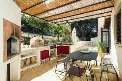Maison de vacances de charme à Valderice avec piscine privée