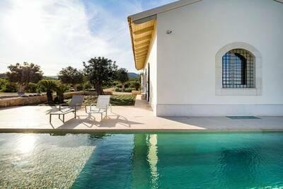 Maison de vacances tranquille à Avola avec piscine privée