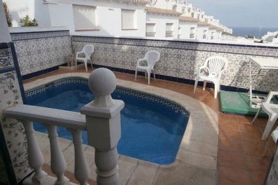 casa para 7 adultos con piscina privada