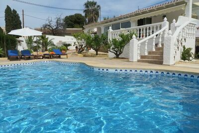 Maison de vacances de luxe à Albir près de la mer