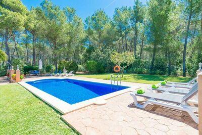 CA NA BARBARA - Villa pour 8 personnes à Santa Maria del Camí.