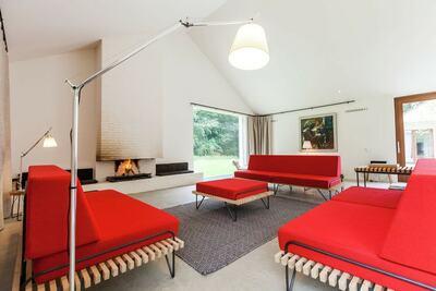 Maison moderne près des dunes de Zélande avec sauna