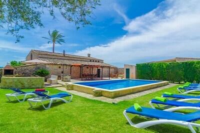 AUBADELLET (CAN RANDA) - Villa pour 8 personnes à Vilafranca De Bonany.