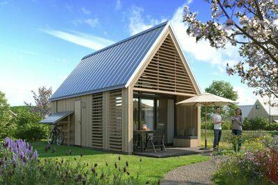 Tiny house moderne avec lave-vaisselle, plage à 500m