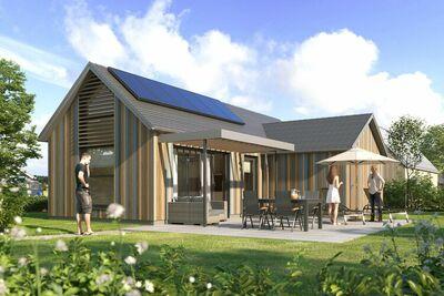Lodge moderne avec ir-sauna, à 500m de la plage