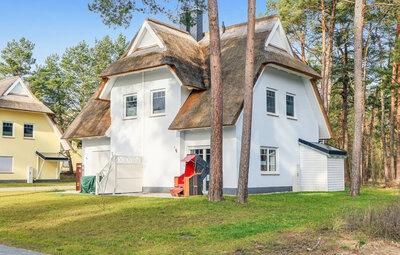 Maison 6 personnes à Zirchow Usedom