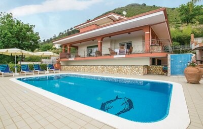 Villa Marino, Maison 8 personnes à Tortora  CS