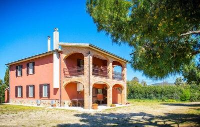 Casale Collecchio, Maison 18 personnes à Magliano in Toscana