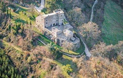 Castello Rocchette, Maison 24 personnes à Bagnoregio VT