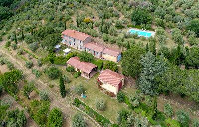 Maison 14 personnes à Cortona