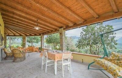 Villa Adamo, Maison 5 personnes à Caccamo  PA