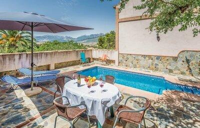 Maison 4 personnes à Montecorto, Málaga