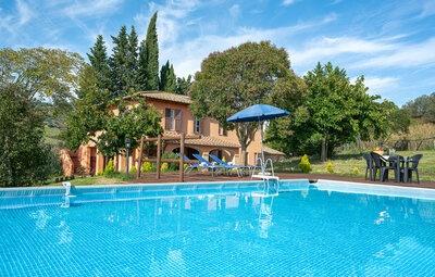 Maison 11 personnes à Volterra