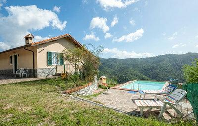 Villa Rita, Maison 11 personnes à Castiglione Chiavarese