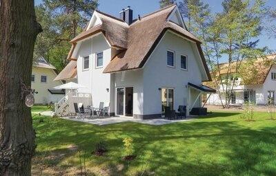 Maison 4 personnes à Zirchow Usedom