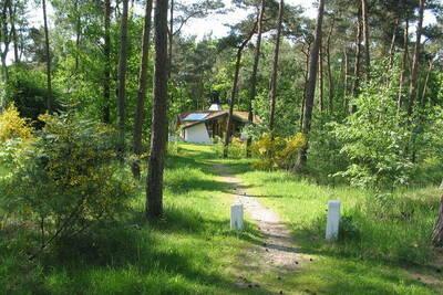Maison de vacances écologique en pleine nature avec poêle