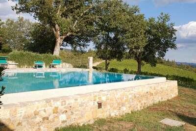 Villa il Colle, Maison 10 personnes à Castellina in Chianti
